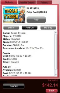 One Rebuy - First Place
